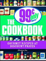 The 99 Cent Only Stores Cookbook PDF