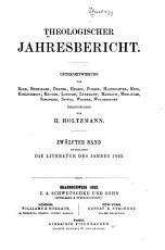 Theologischer Jahresbericht PDF