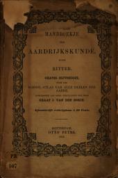 Handboekje der aardrijkskunde: Volume 1