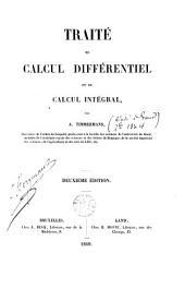 Traité de calcul différentiel et de calcul intégral