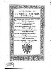 Assertiones ex variis philosophiae partibus depromptae