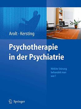 Psychotherapie in der Psychiatrie PDF