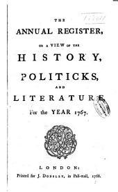 Annual Register: Volume 10