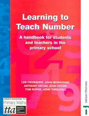 Learning to Teach Number PDF