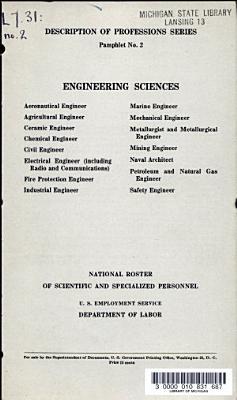 Engineering Sciences PDF