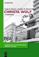 Christa Wolf PDF