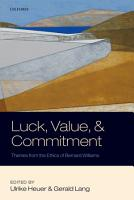 Luck  Value  and Commitment PDF