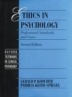 Ethics in Psychology PDF