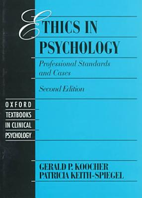 Ethics in Psychology