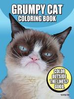 Grumpy Cat Coloring Book PDF