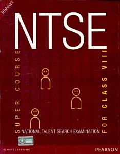 NTSE  National Talent Search Examination   Super Course For Class VIII Book