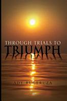 Through Trials To Triumph PDF