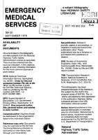 Emergency medical services PDF