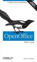 OpenOffice kurz   gut PDF