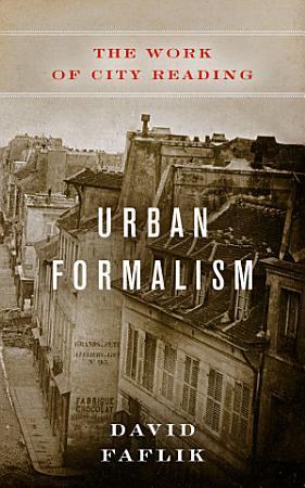 Urban Formalism PDF