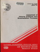 Assessment of Airborne Emissions from Bioremediation Processes