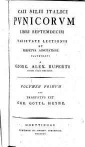 Punica: Varietate Lectionis Et Perpetva Adnotatione Illvstrati, Volume 1