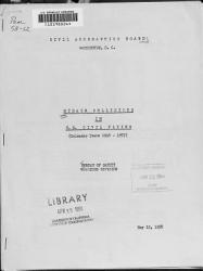Midair Collisions in U S  Civil Flying  calendar Years 1948 1957  PDF