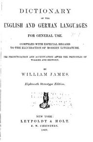 Dictionary of the English and German Languages for General Use PDF