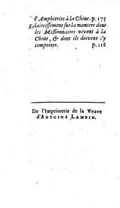 Lettres edifiantes et curieuses: ecrite des missions etrangères, Volume8