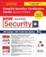 CompTIA Security  Certification Bundle  Second Edition  Exam SY0 401  PDF