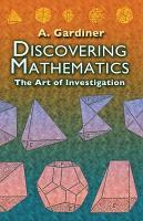 Discovering Mathematics PDF