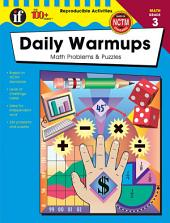 Daily Warmups, Grade 3: Math Problems & Puzzles
