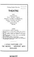 Theatre  catalogues   PDF