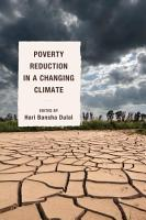 Poverty Reduction in a Changing Climate PDF