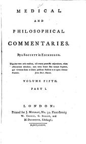 Medical and Philosophical Commentaries: Volume 5