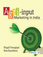 Agri input Marketing in India PDF