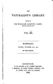 Naturalists Library: Volume 16