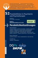 S2 Leitlinien f  r Pers  nlichkeitsst  rungen PDF
