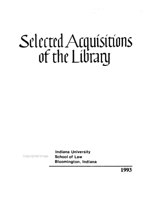 Selected Acquisitions of the Library PDF