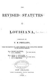 The Revised Statutes of Louisiana