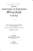 Allgemeines englisch deutsches und deutsch englisches w  rterbuch PDF