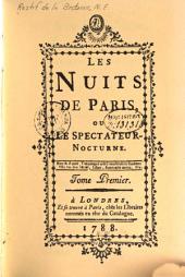 Les nuits de Paris: ou Le spectateur-nocturne