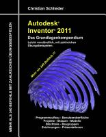 Autodesk Inventor 2011   Das Grundlagenkompendium PDF
