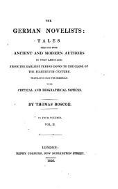 Popular traditions collected and narrated by [1] Otmar [i. e. J. K. C. Nachtigal]; [2] K. F. Gottschalck; [3] P. Eberhardt; [4] J. G. G. Büsching; [5] J. L. K. and W. K. Grimm; [6] Lothar [i.e. O. C. Von Graeven] (The arch rogue. Castle Christburg) ; [7] F. H. K. freiherr de La Mott-Fouqué. (The field of terror. The mandrake)