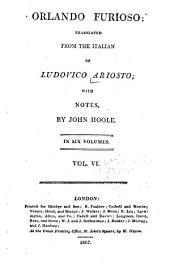 Orlando Furioso: Volume 6