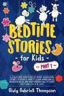 Bedtime Stories For Kids Vol   1 PDF