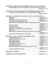 Georgia Coastal Management Program: Environmental Impact Statement