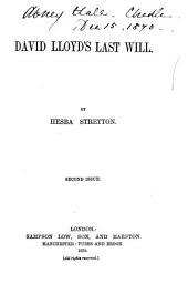 David Lloyd's Last Will