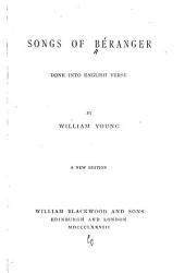 Songs of Béranger