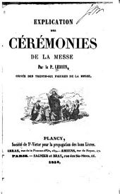 Explication des cérémonies de la messe