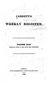 Cobbett's Political Register: Volume 42