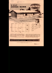 8-stall horse barn