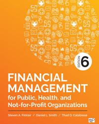 Financial Management For Public Health And Not For Profit Organizations Book PDF