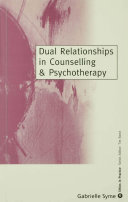 Dual Relationships in Counselling & Psychotherapy