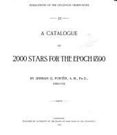 A Catalogue of 2000 Stars for the Epoch 1890: Issues 13-15